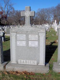 Anne I <i>Babien</i> Root