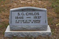 Sylvanus Glaze Childs