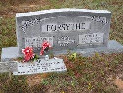 Violet Raye <i>Singleton</i> Forsythe