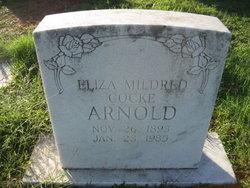 Eliza Mildred <i>Cocke</i> Arnold
