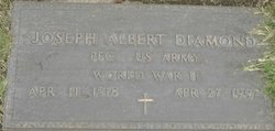 Joseph Albert Bert Diamond