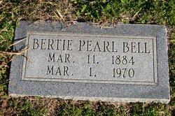 Bertie Pearl <i>Etter</i> Bell