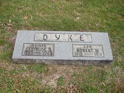 Gertrude B. <i>Gantz</i> Dyke