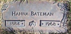 Hanna <i>Nelson</i> Bateman