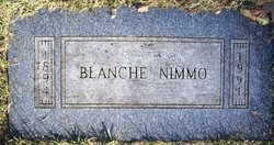 Blanche Lillian <i>Lunstrum</i> Nimmo