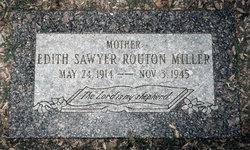 Edith Dallas <i>Sawyer</i> Miller