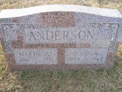 Hattie A Anderson