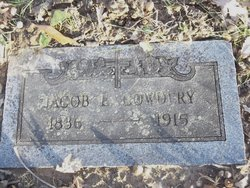 Jacob E Cowdery
