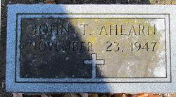John Thomas Ahearn, Jr