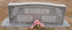 Etta Mae <i>Latimer</i> Bales