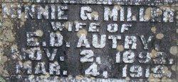 Minnie Glinn <i>Miller</i> Autry