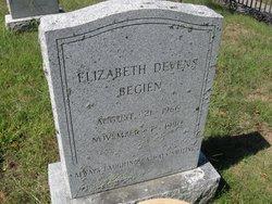 Elizabeth <i>Devens</i> Begien