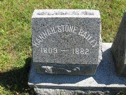 Hannah <i>Stone</i> Bailey