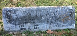 Ada B <i>Carter</i> Williams