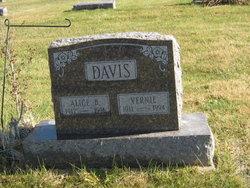 Alice B <i>Warnick</i> Davis