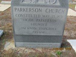 Parkerson Baptist Church Cemetery