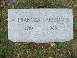 Mary Frances <i>Bennett</i> Larrimore
