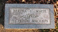 Bertha L White