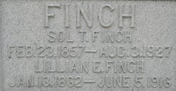 Lillian Estella <i>Pearce</i> Finch