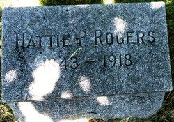 Hattie P Rogers
