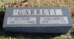Hulda <i>Garriott</i> Garrett
