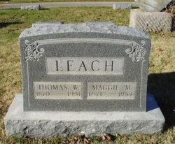 Maggie M. <i>Andrew</i> Leach