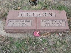 Mary <i>Cleveland</i> Colson