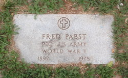 Frederick H Pabst