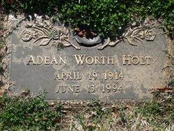 Adean <i>Worth</i> Holt