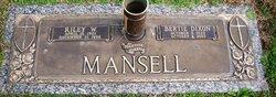 Bertie <i>Dixon</i> Mansell