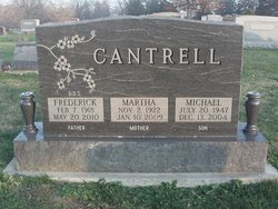 Dr Frederick A. Cantrell