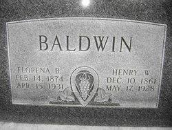 Florence <i>(Mapes)</i> Baldwin