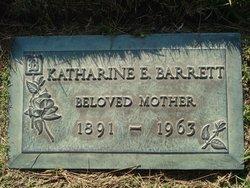 Katharine E <i>Ingalls</i> Barrett