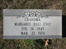 Margaret <i>Hall</i> Cole