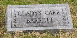 Gladys E. <i>Carr</i> Barrett