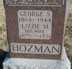 Lizzie <i>Myers</i> Bozman