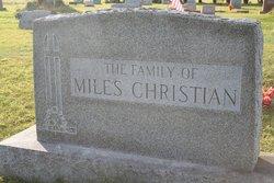 Miles Henry Christian