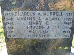 Martha Ann <i>Gordon</i> Burrell