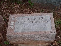 Isabelle M <i>Wrigley</i> Bell