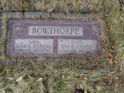 Zina Rasmine <i>Petersen</i> Bowthorpe