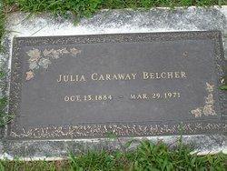 Julia <i>Caraway</i> Belcher