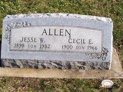Cecil E Allen