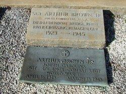 Sgt Arthur Brown, Jr
