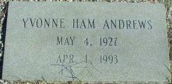 Yvonne <i>Ham</i> Andrews