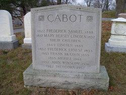 Frederick Ernest Cabot