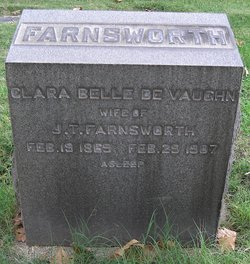 Clara Belle <i>DeVaughn</i> Farnsworth