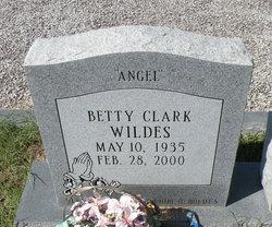 Betty <i>Clark</i> Wildes