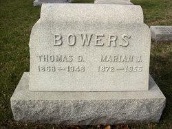 Marian Josephine <i>Lusby</i> Bowers