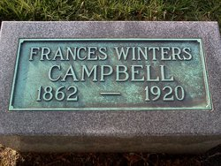 Frances E. <i>Winters</i> Campbell