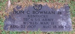 Don Carlos Bowman, Jr